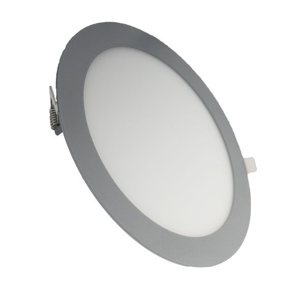 Downlight-panel-LED-Circular-Gris18W
